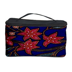 Batik  Fabric Cosmetic Storage Case by BangZart