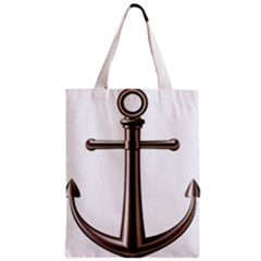 Anchor Zipper Classic Tote Bag by BangZart