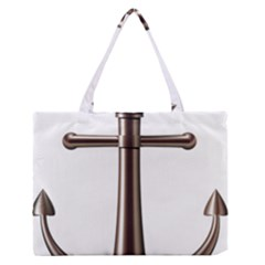 Anchor Medium Zipper Tote Bag