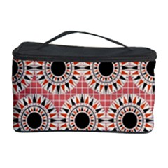 Black Stars Pattern Cosmetic Storage Case by linceazul