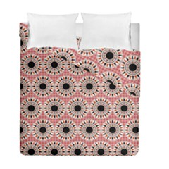 Black Stars Pattern Duvet Cover Double Side (full/ Double Size) by linceazul