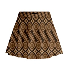 Batik The Traditional Fabric Mini Flare Skirt