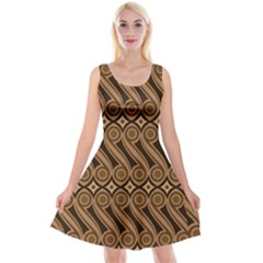 Batik The Traditional Fabric Reversible Velvet Sleeveless Dress