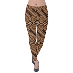 Batik The Traditional Fabric Velvet Leggings