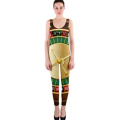 Casino Roulette Clipart Onepiece Catsuit