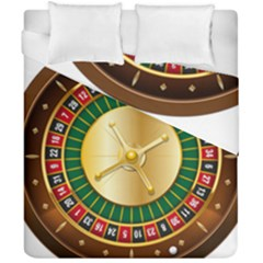 Casino Roulette Clipart Duvet Cover Double Side (california King Size) by BangZart