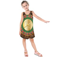Casino Roulette Clipart Kids  Sleeveless Dress