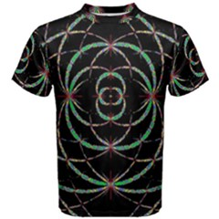 Abstract Spider Web Men s Cotton Tee by BangZart