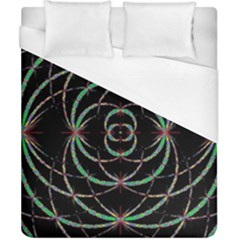 Abstract Spider Web Duvet Cover (california King Size) by BangZart