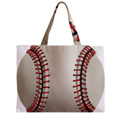 Baseball Medium Tote Bag by BangZart