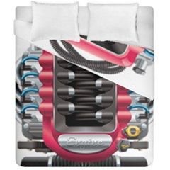 Car Engine Duvet Cover Double Side (california King Size) by BangZart