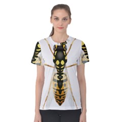 Wasp Women s Cotton Tee by BangZart