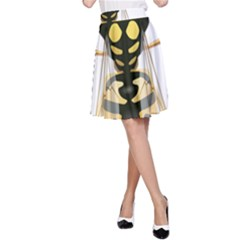 Wasp A Line Skirt