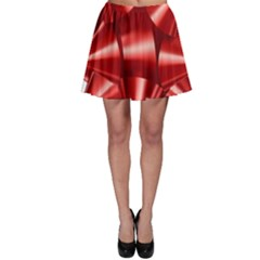 Red Bow Skater Skirt by BangZart