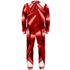 Red Bow Onepiece Jumpsuit (men)