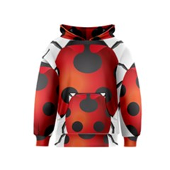Ladybug Insects Kids  Pullover Hoodie
