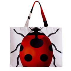 Ladybug Insects Zipper Mini Tote Bag by BangZart