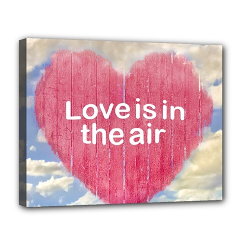 Love Concept Poster Design Canvas 14  X 11  by dflcprints
