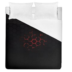 Abstract Pattern Honeycomb Duvet Cover (queen Size) by BangZart