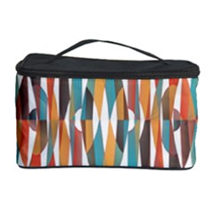 Colorful Geometric Abstract Cosmetic Storage Case by linceazul