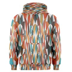 Colorful Geometric Abstract Men s Pullover Hoodie by linceazul