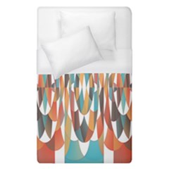 Colorful Geometric Abstract Duvet Cover (single Size) by linceazul