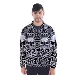 Tattoo Tribal Street Art Wind Breaker (men) by Valentinaart