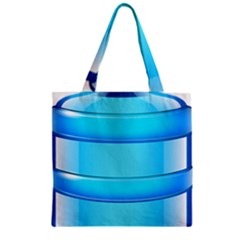 Large Water Bottle Zipper Grocery Tote Bag by BangZart
