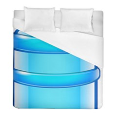 Large Water Bottle Duvet Cover (full/ Double Size) by BangZart
