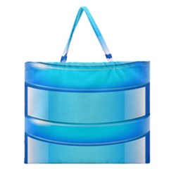 Large Water Bottle Zipper Large Tote Bag