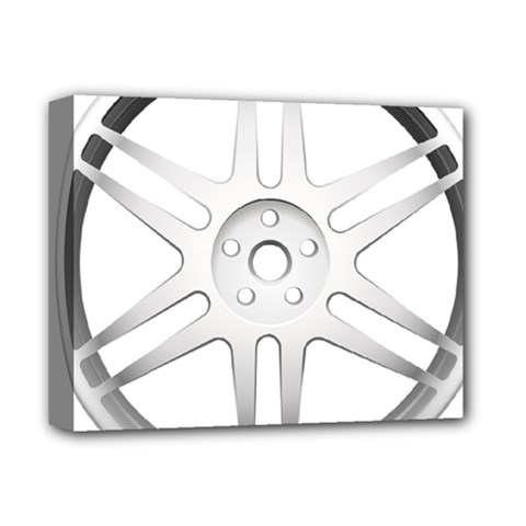 Wheel Skin Cover Deluxe Canvas 14  X 11  by BangZart