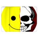Skull Behind Your Smile Samsung Galaxy Tab 10.1  P7500 Flip Case View1