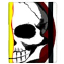 Skull Behind Your Smile Samsung Galaxy Tab 10.1  P7500 Flip Case View3
