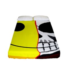 Skull Behind Your Smile Fitted Sheet (full/ Double Size) by BangZart