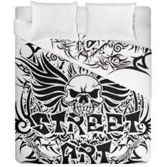 Tattoo Tribal Street Art Duvet Cover Double Side (california King Size) by Valentinaart