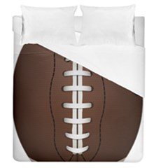 Football Ball Duvet Cover (queen Size) by BangZart