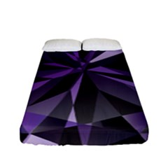 Amethyst Fitted Sheet (full/ Double Size) by BangZart