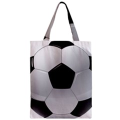 Soccer Ball Zipper Classic Tote Bag by BangZart