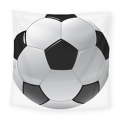 Soccer Ball Square Tapestry (large) by BangZart