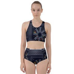 Special Black Power Supply Computer Bikini Swimsuit Spa Swimsuit