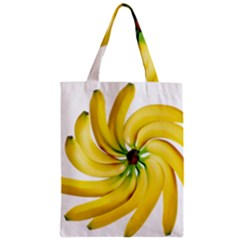 Bananas Decoration Zipper Classic Tote Bag by BangZart