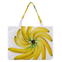 Bananas Decoration Medium Zipper Tote Bag