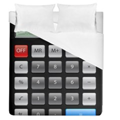 Calculator Duvet Cover (queen Size) by BangZart