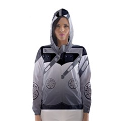 Computer Hard Disk Drive Hdd Hooded Wind Breaker (women)