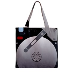 Computer Hard Disk Drive Hdd Zipper Grocery Tote Bag by BangZart