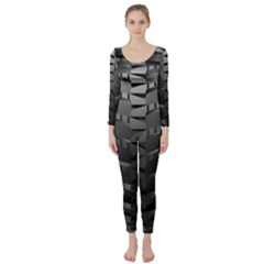 Tire Long Sleeve Catsuit