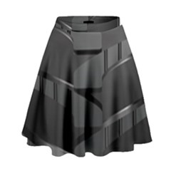 Tire High Waist Skirt
