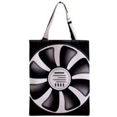 12v Computer Fan Classic Tote Bag by BangZart