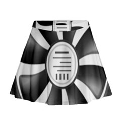 12v Computer Fan Mini Flare Skirt by BangZart