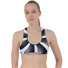 12v Computer Fan Criss Cross Racerback Sports Bra